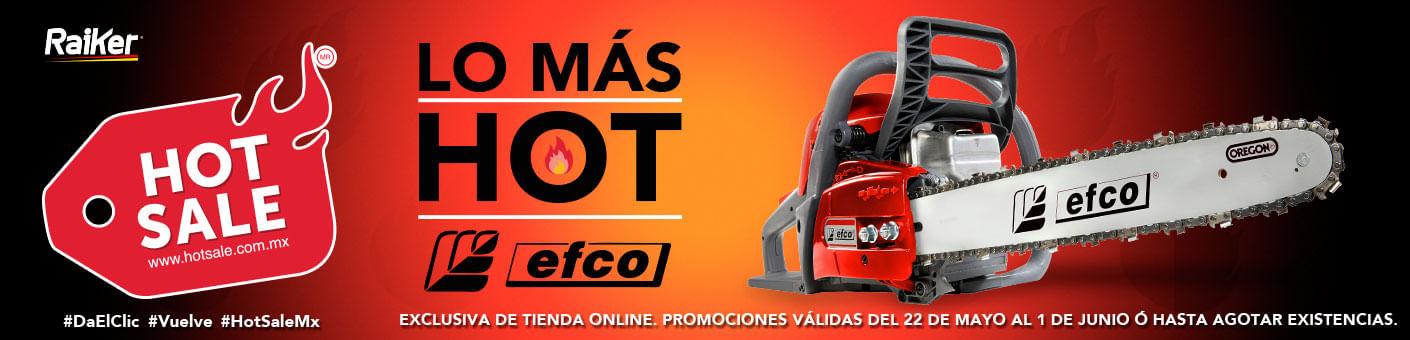 Ofertas Hot sale en equipos Efco - Raiker Agroindustrias