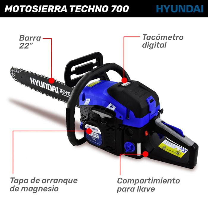 Motosierra Techno 700 Hyundai