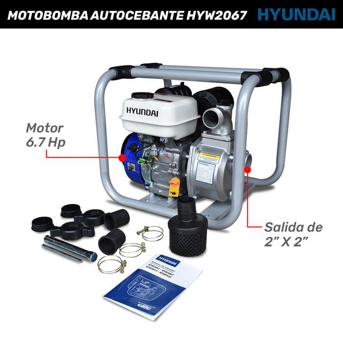 Motobomba Autocebante HYW2067 Hyundai